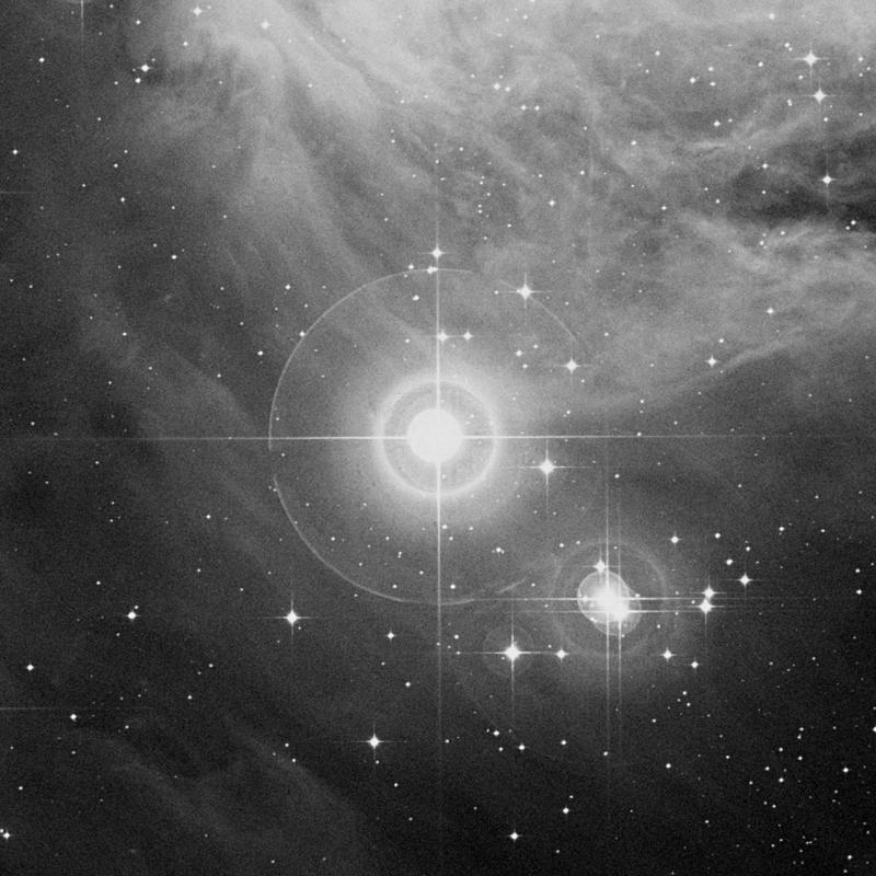 Image of NGC 1980 (Lower Sword) - Star Cluster + Nebula star