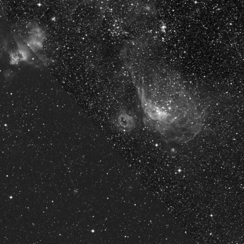 Image of NGC 2020 - Emission Nebula in Dorado star