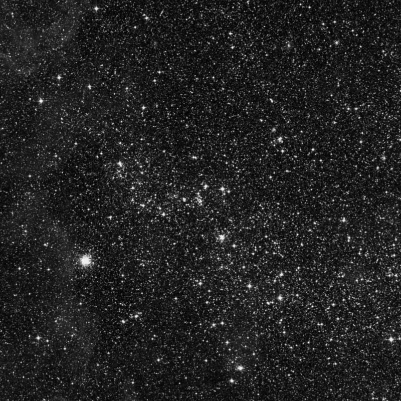 Image of NGC 2027 - Open Cluster in Dorado star