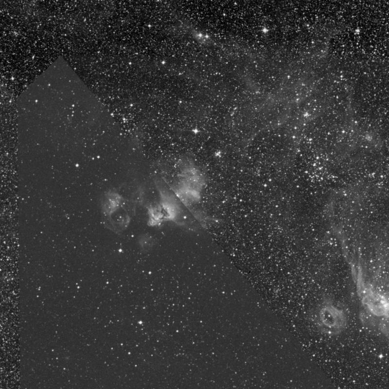 Image of NGC 2030 - HII Ionized region in Dorado star