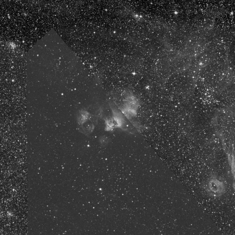 Image of NGC 2032 - HII Ionized region in Dorado star