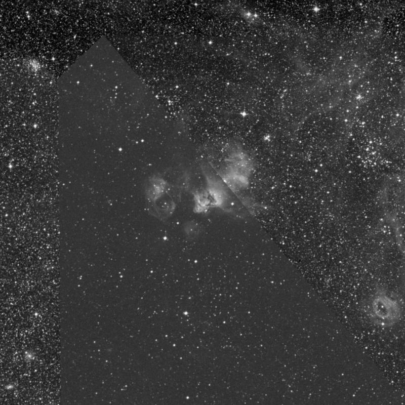 Image of NGC 2035 - Nebula in Dorado star