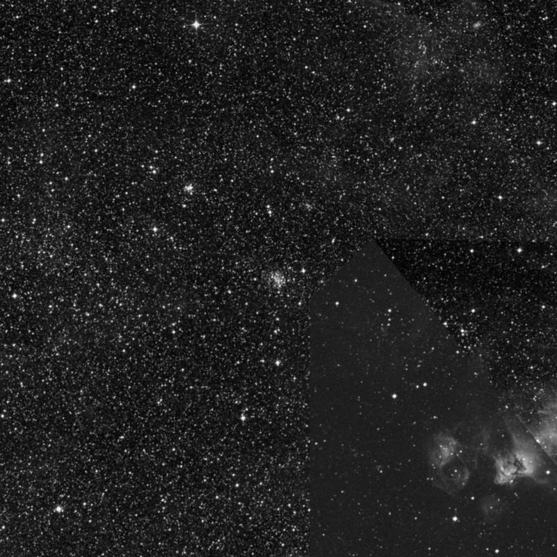 Image of NGC 2053 - Open Cluster in Dorado star