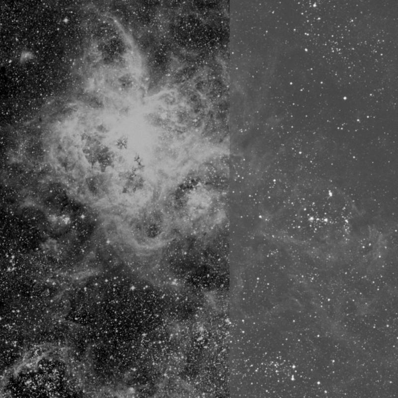 Image of NGC 2060 - Supernova Remnant in Dorado star