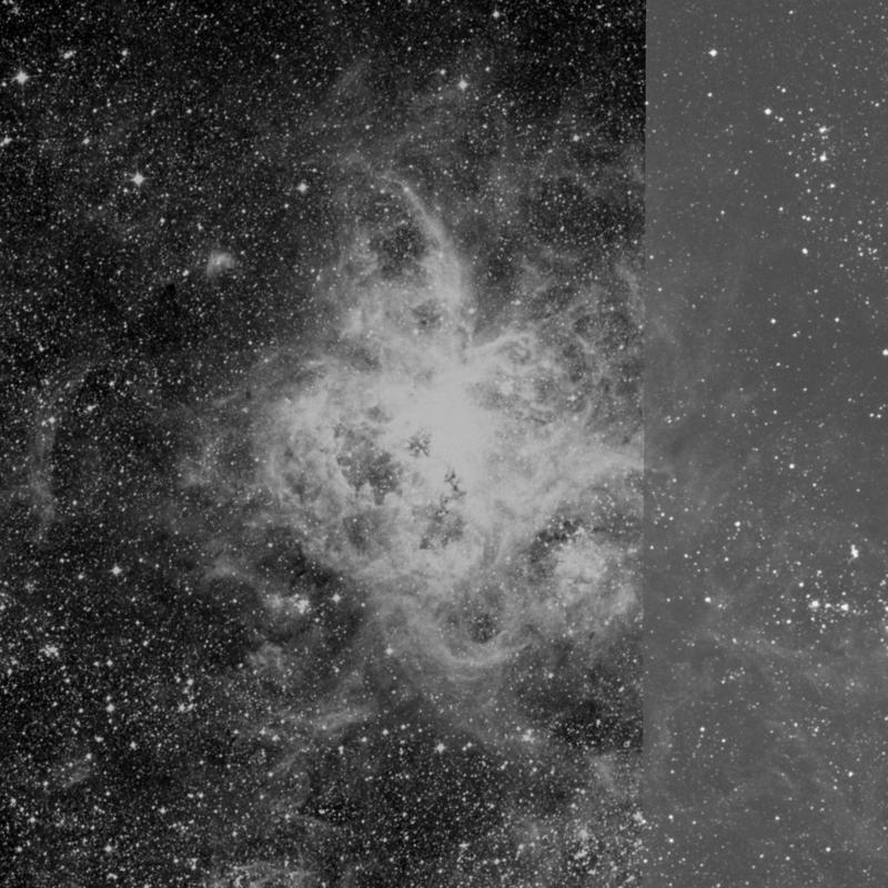 Image of NGC 2070 (Tarantula Nebula) - HII Ionized region in Dorado star