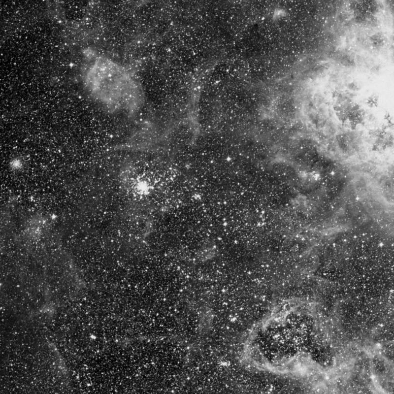 Image of NGC 2092 - Open Cluster in Dorado star
