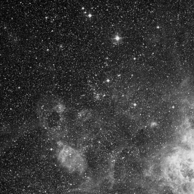 Image of NGC 2093 - Association of Stars in Dorado star