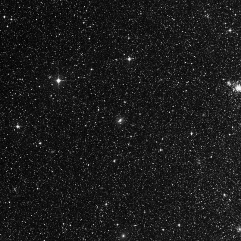 Image of NGC 2150 - Spiral Galaxy in Dorado star