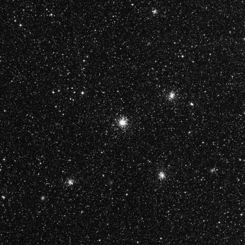 Image of NGC 2164 - Globular Cluster in Dorado star