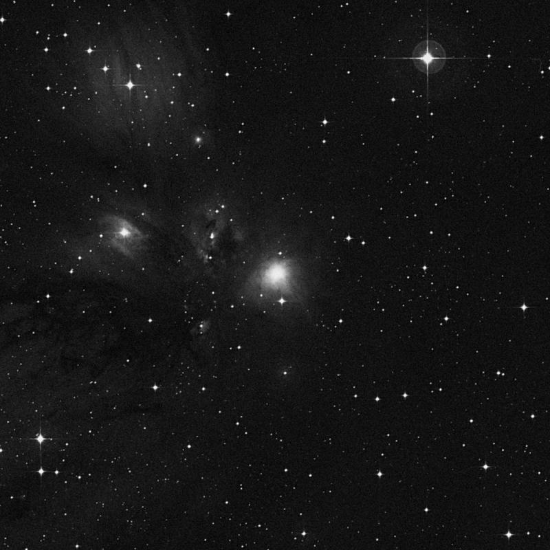 Image of NGC 2170 - Reflection Nebula in Monoceros star