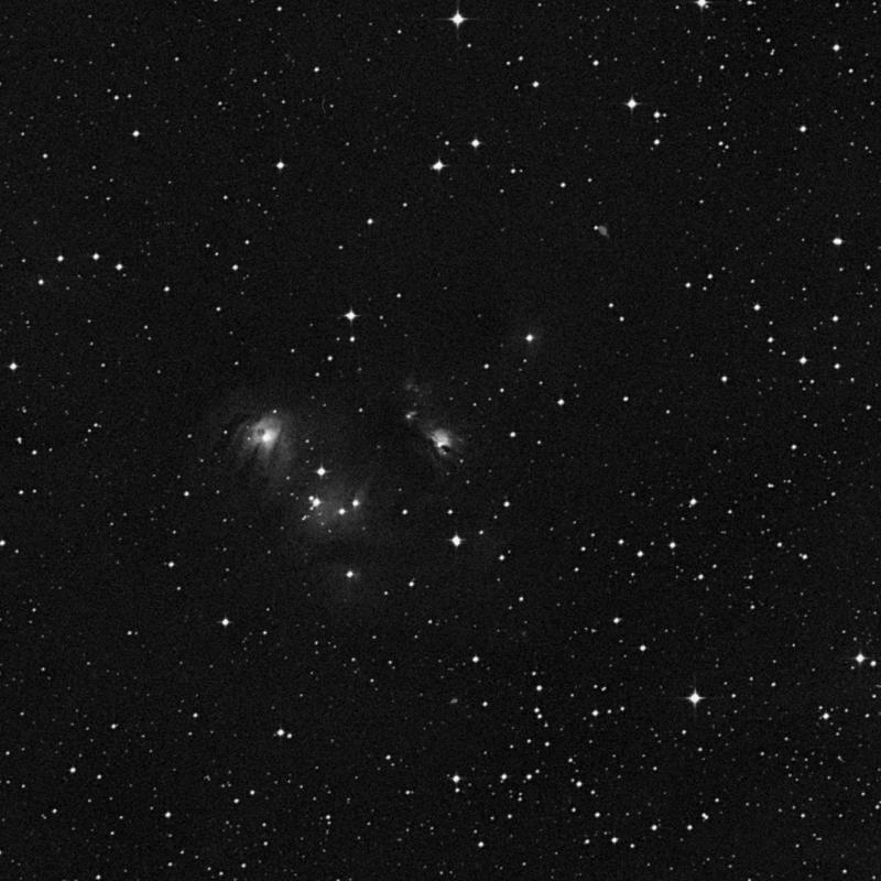 Image of NGC 2183 - HII Ionized region in Monoceros star