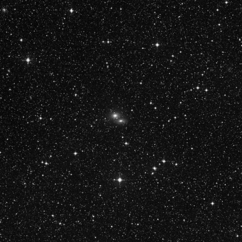 Image of NGC 2187A - Lenticular Galaxy in Dorado star