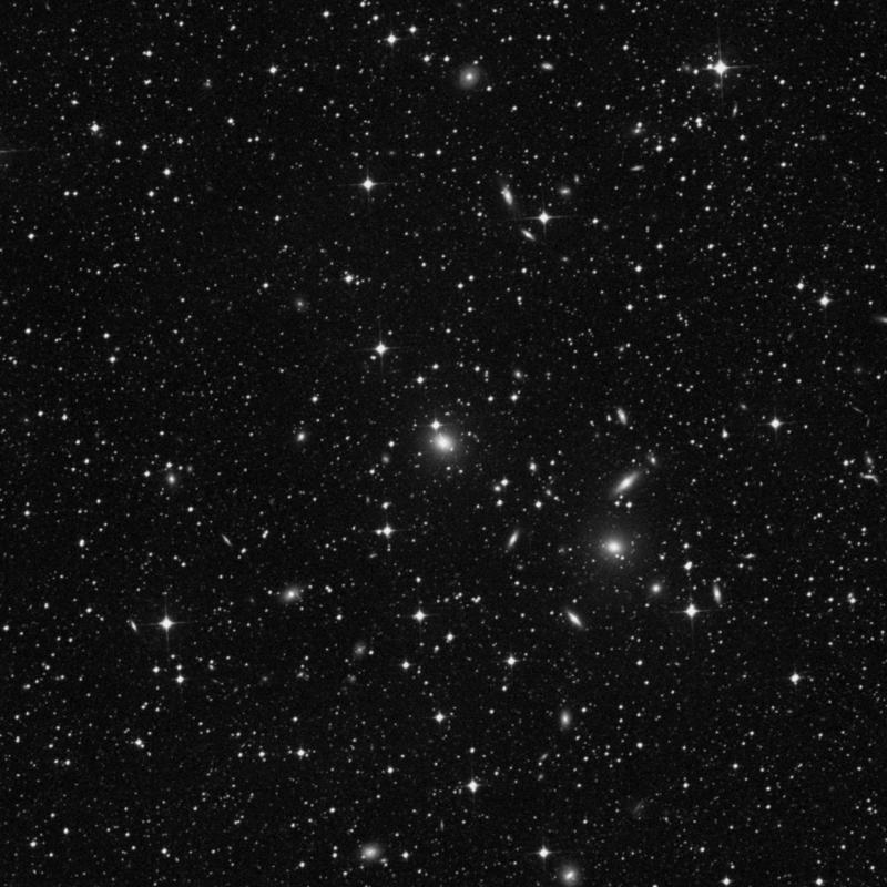 Image of NGC 2235 - Elliptical Galaxy in Dorado star