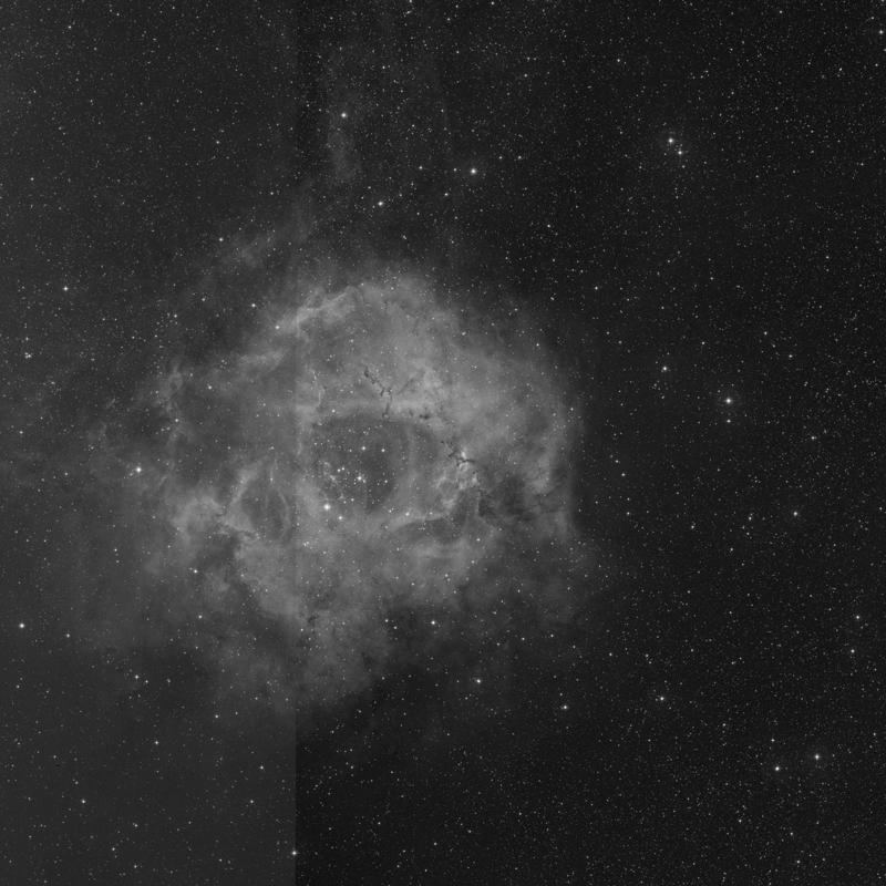 Image of NGC 2237 (Rosette A) - Nebula in Monoceros star