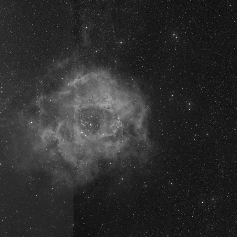 Image of NGC 2238 (Rosette Nebula) - HII Ionized region in Monoceros star