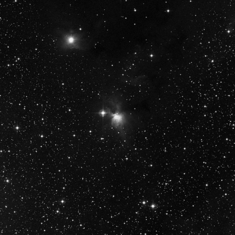 Image of NGC 2245 - Reflection Nebula in Monoceros star