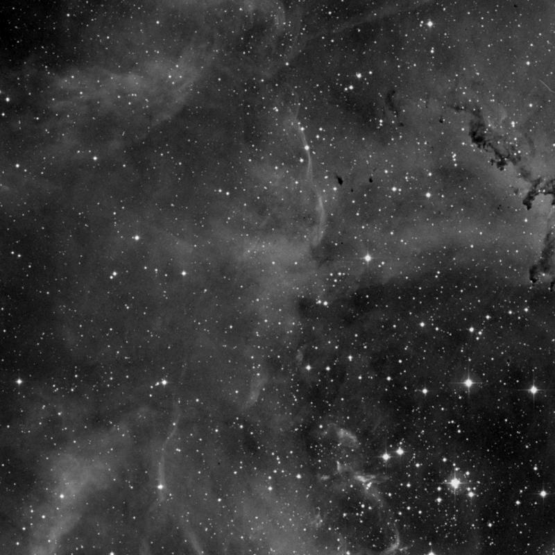 Image of NGC 2246 (Rosette B) - Nebula in Monoceros star