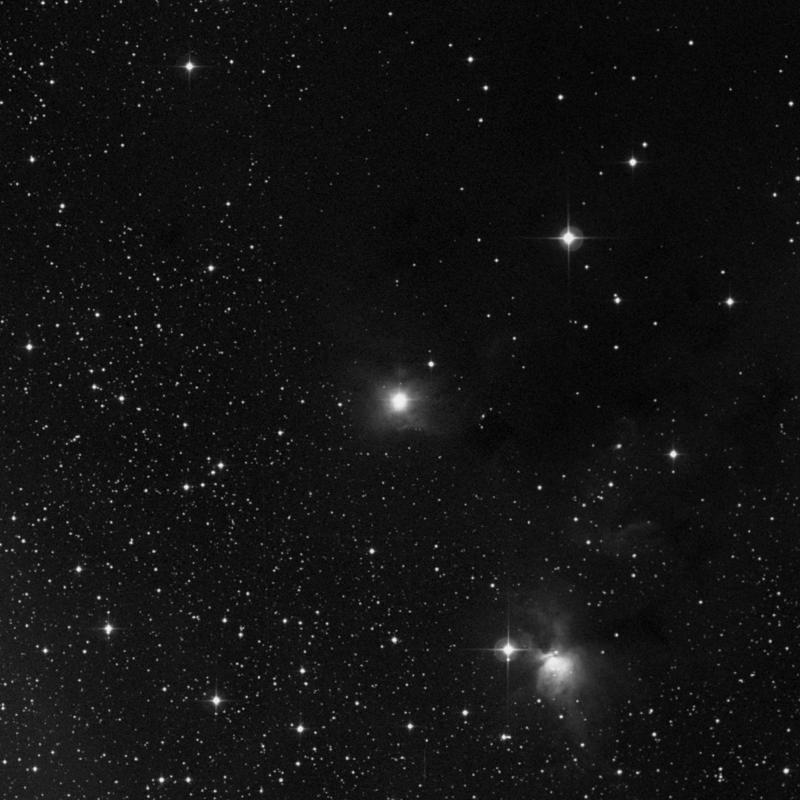 Image of NGC 2247 - Reflection Nebula in Monoceros star