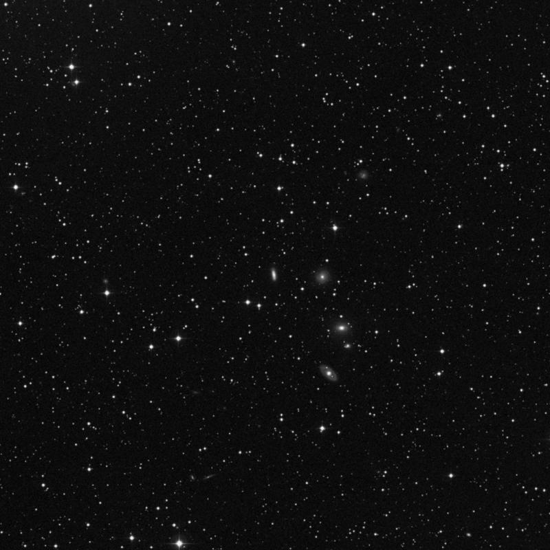 Image of NGC 2294 - Elliptical Galaxy in Gemini star
