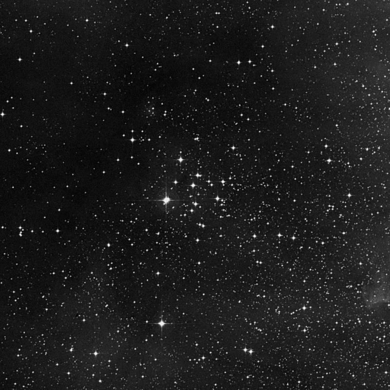 Image of NGC 2343 - Open Cluster in Monoceros star