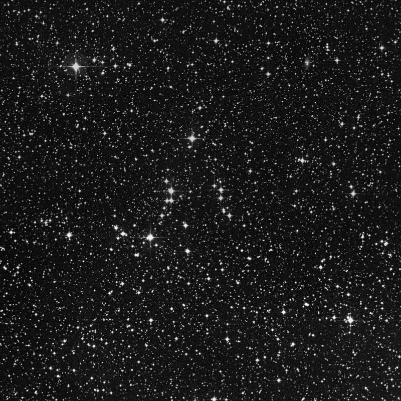 Image of NGC 2364 - Open Cluster in Monoceros star