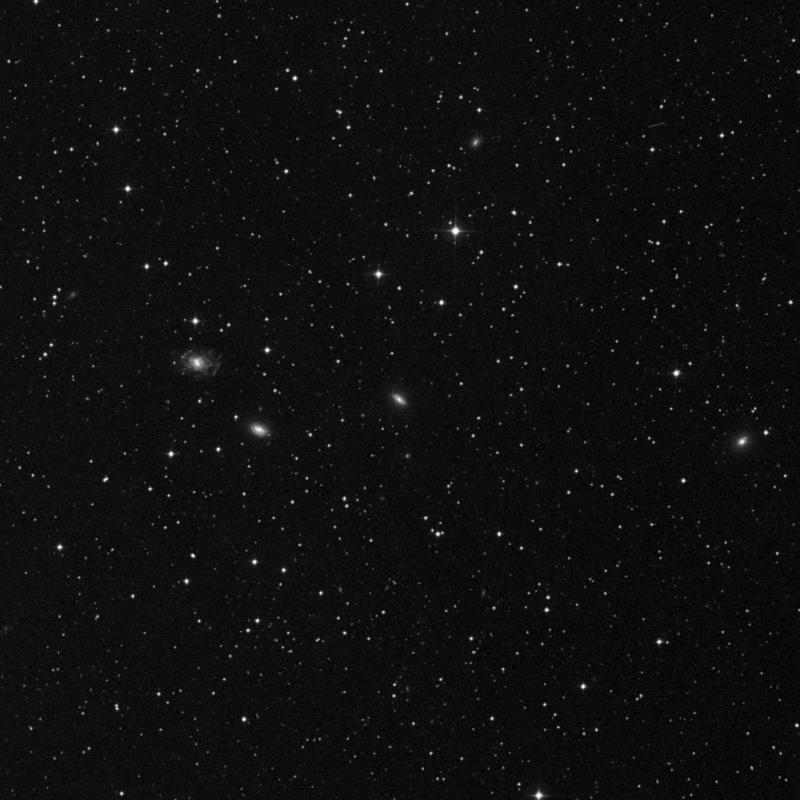 Image of NGC 2385 - Spiral Galaxy in Gemini star
