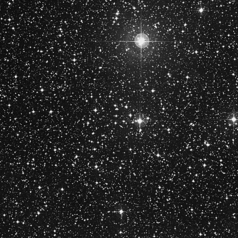 Image of NGC 2396 - Open Cluster in Puppis star