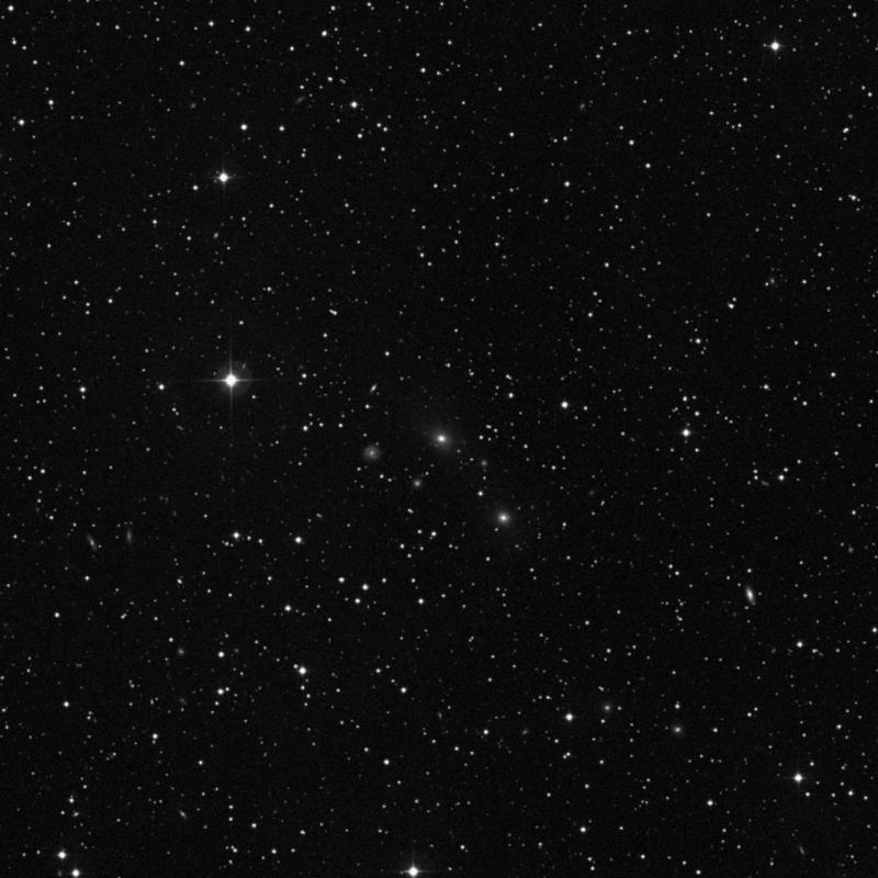 Image of NGC 2407 - Elliptical/Spiral Galaxy in Gemini star