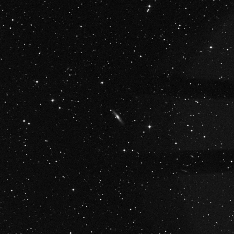 Image of NGC 2435 - Intermediate Spiral Galaxy in Gemini star