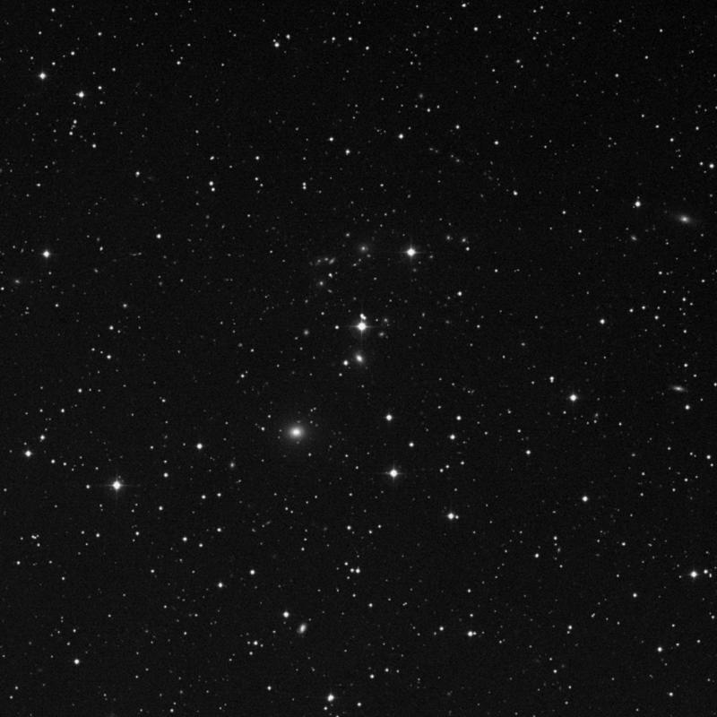 Image of NGC 2490 - Elliptical/Spiral Galaxy in Gemini star