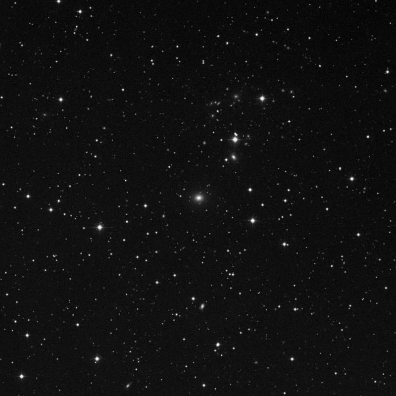 Image of NGC 2492 - Elliptical/Spiral Galaxy in Gemini star