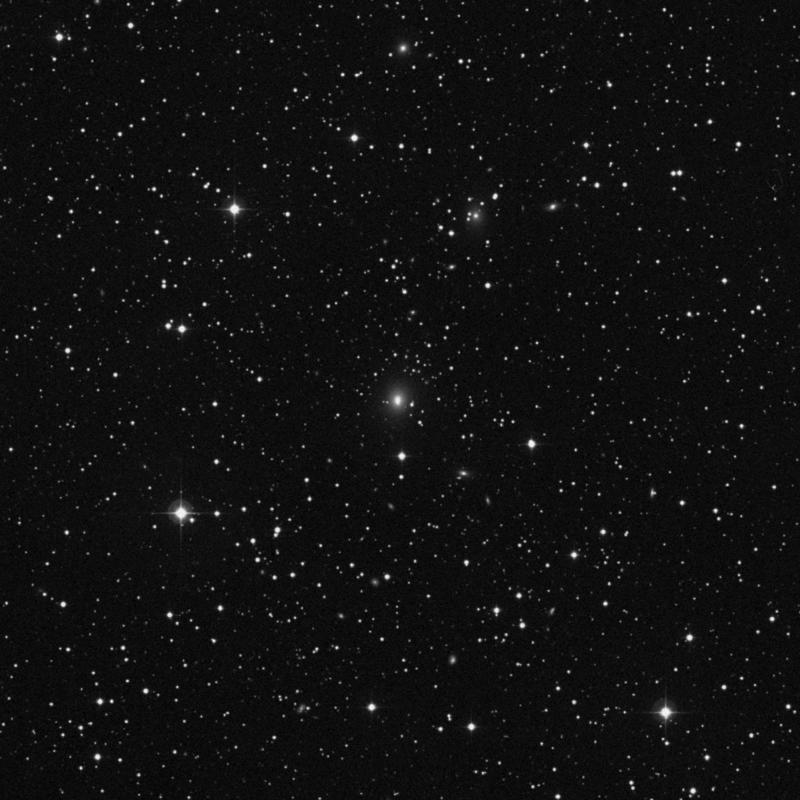 Image of NGC 2496 - Elliptical Galaxy in Canis Minor star