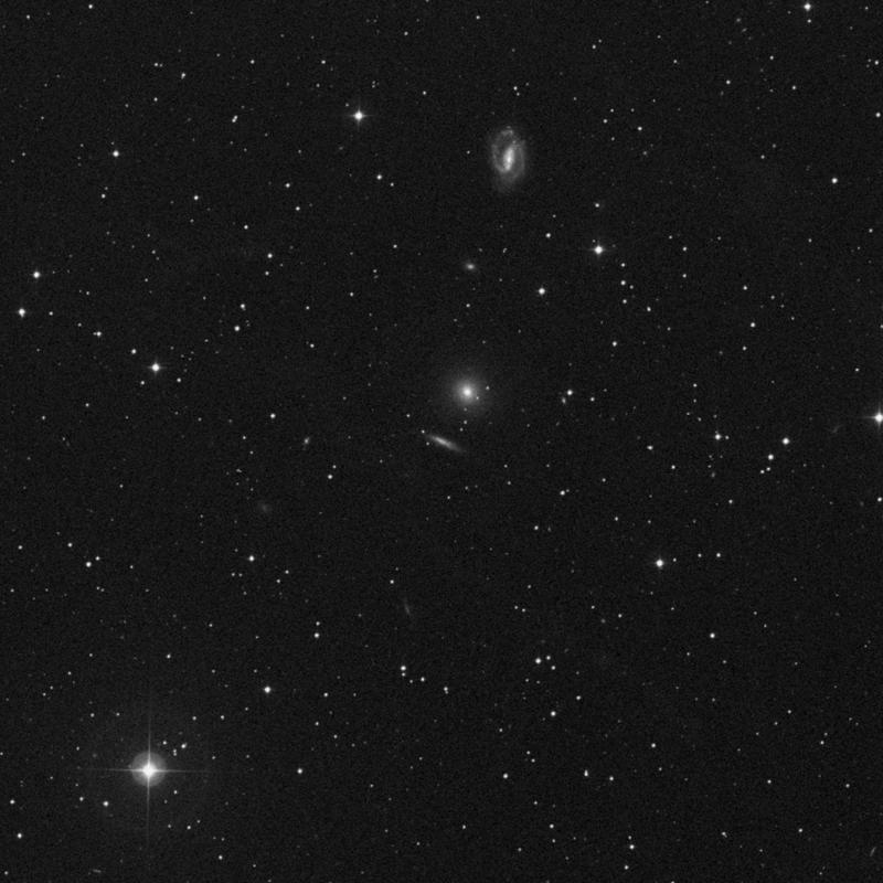 Image of NGC 2634A - Barred Spiral Galaxy star
