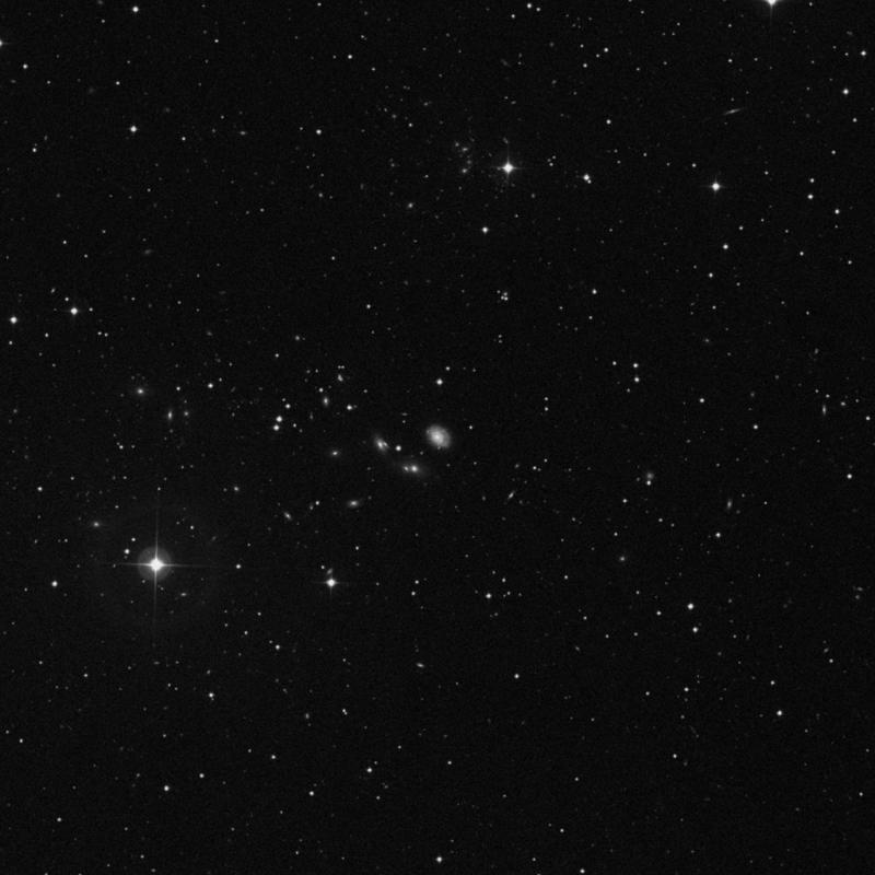 Image of NGC 2684 - Intermediate Spiral Galaxy in Ursa Major star