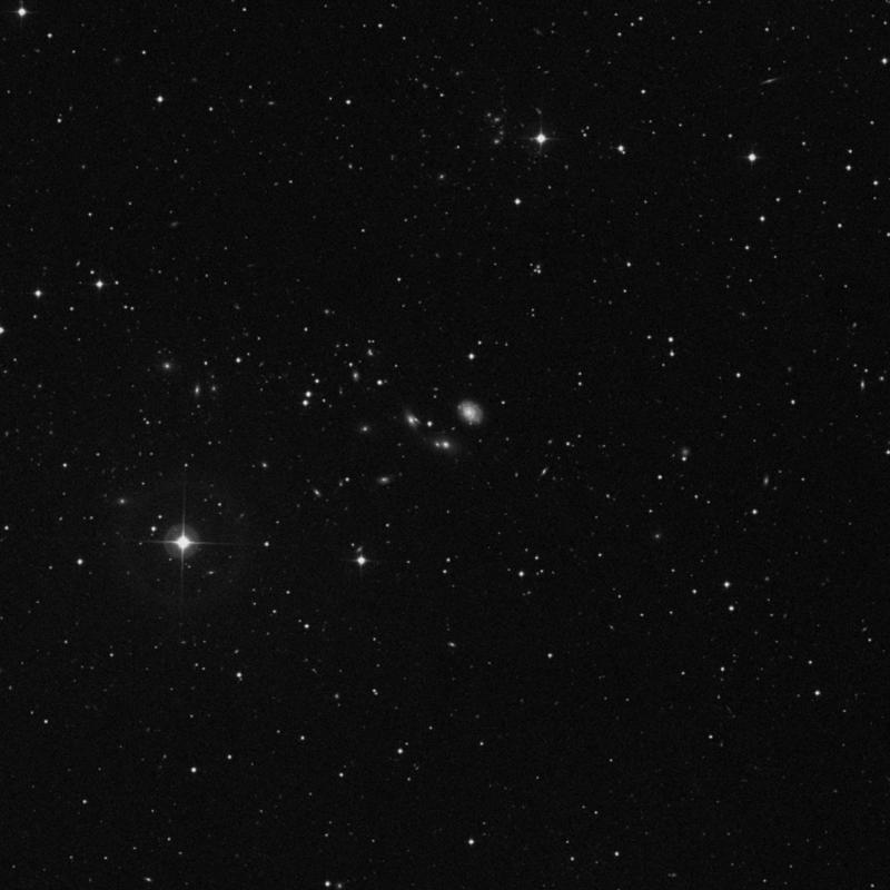 Image of NGC 2686A - Elliptical Galaxy in Ursa Major star