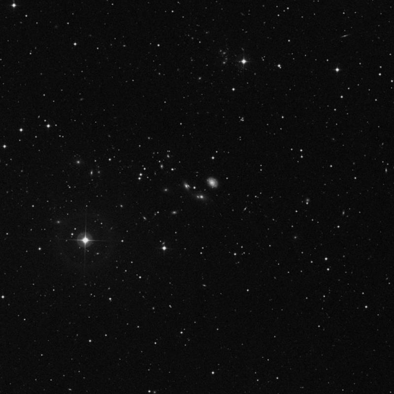 Image of NGC 2686B - Elliptical Galaxy in Ursa Major star