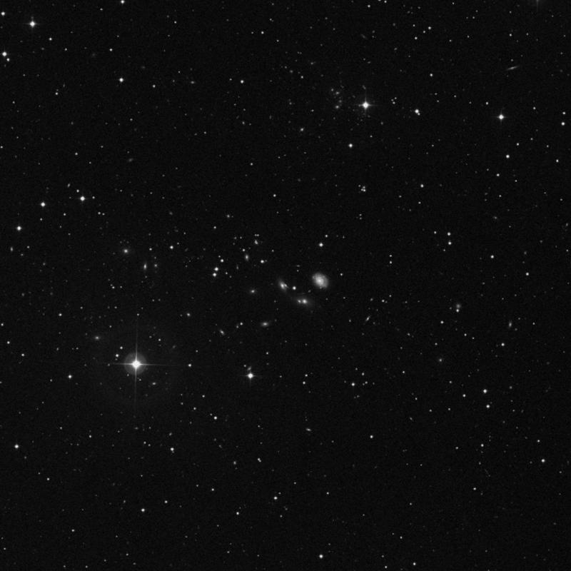 Image of NGC 2687A - Galaxy in Ursa Major star
