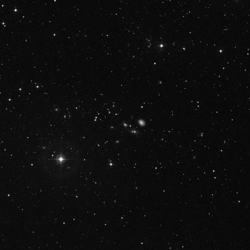 Image of NGC 2687B - Elliptical/Spiral Galaxy in Ursa Major star