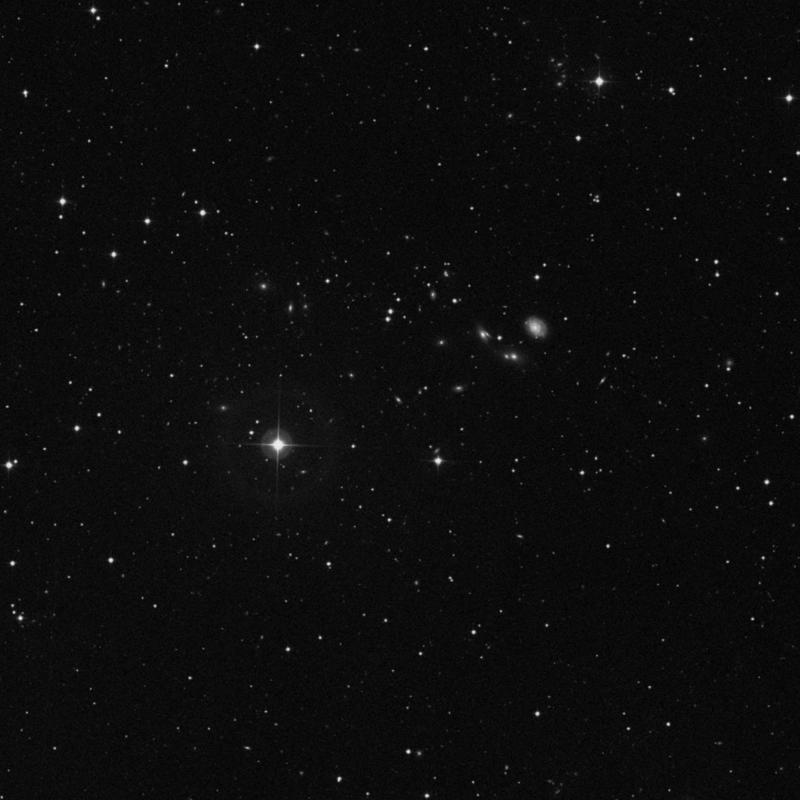 Image of NGC 2689 - Elliptical Galaxy in Ursa Major star