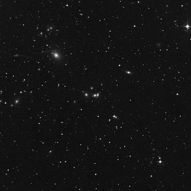 Image of IC 829 - Lenticular Galaxy in Corvus star