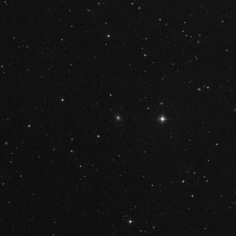 Image of IC 852 - Elliptical/Spiral Galaxy in Ursa Major star