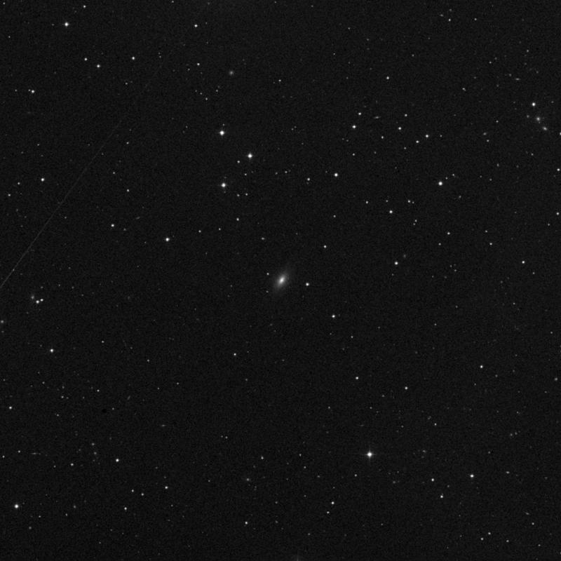 Image of IC 875 - Lenticular Galaxy in Ursa Major star
