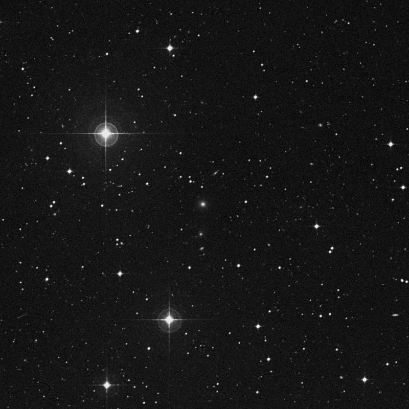 Image of IC 886 - Galaxy in Virgo star