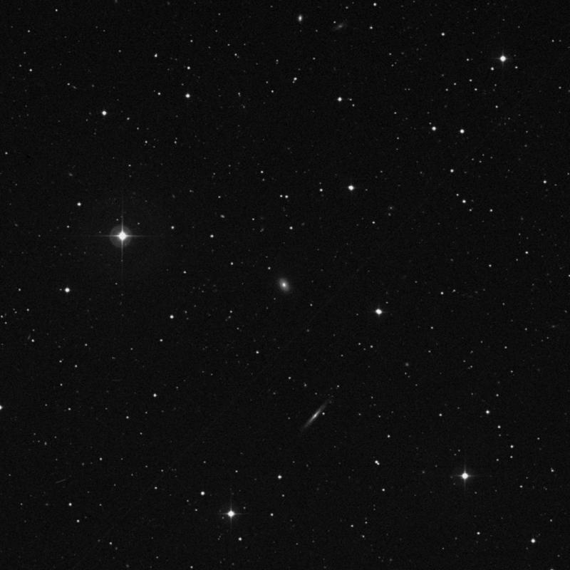 Image of IC 896 - Elliptical Galaxy in Virgo star