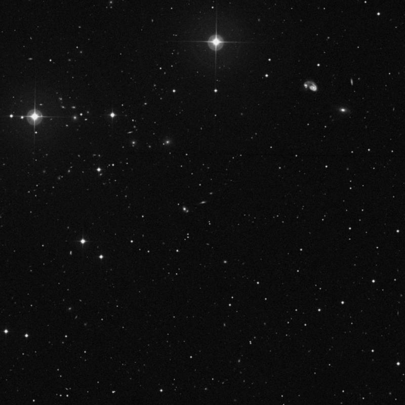 Image of IC 918 - Spiral Galaxy in Ursa Major star