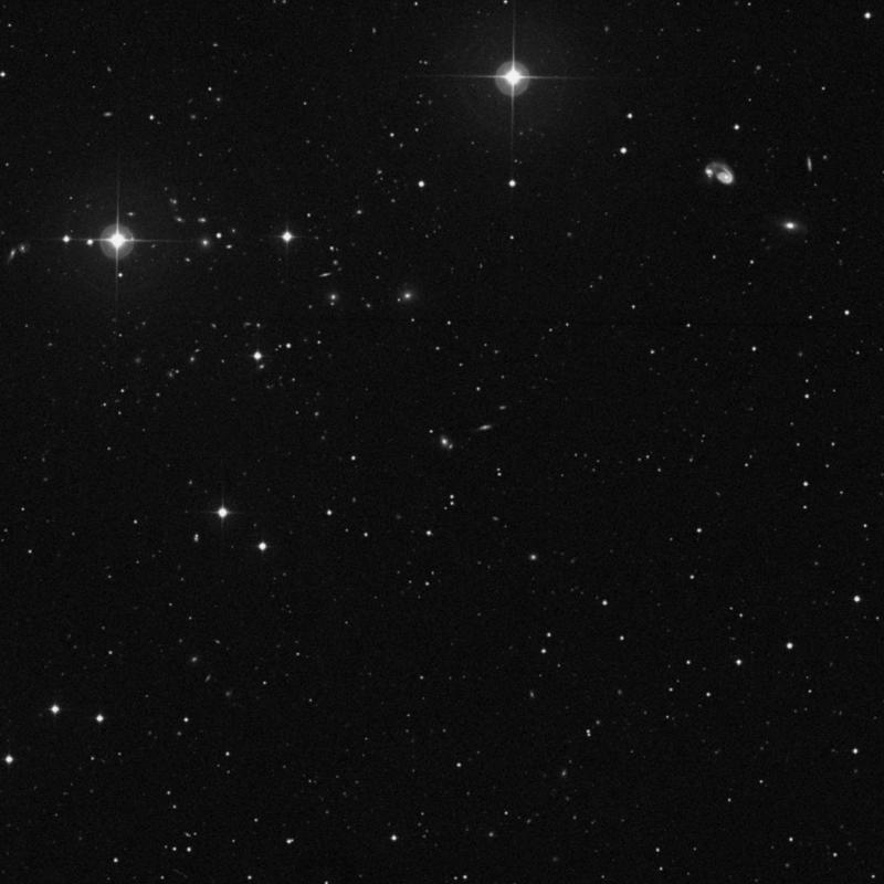Image of IC 919 - Lenticular Galaxy in Ursa Major star