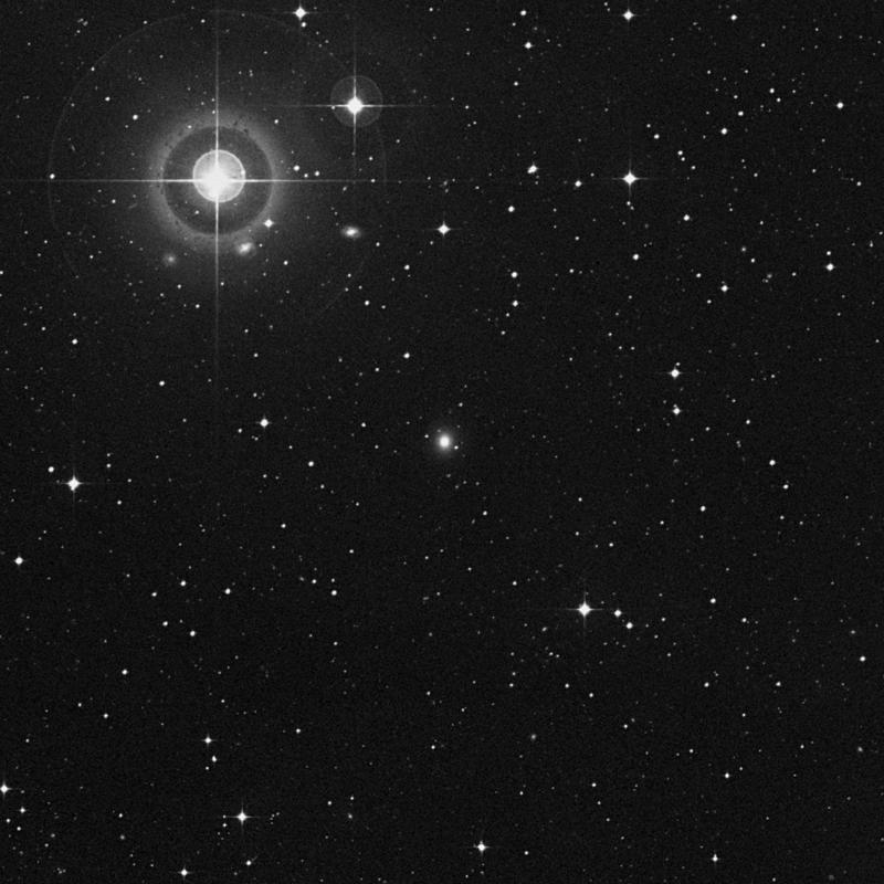 Image of IC 920 - Elliptical Galaxy in Virgo star