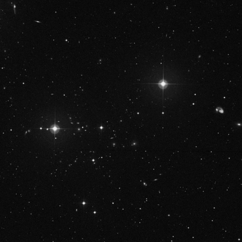 Image of IC 921 - Elliptical Galaxy in Ursa Major star