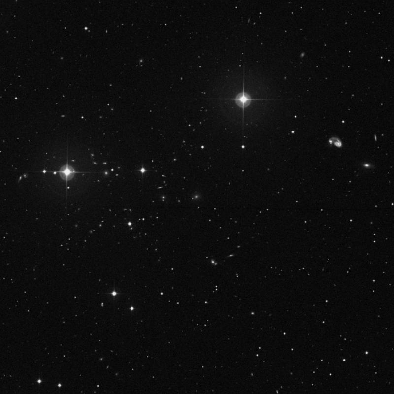 Image of IC 922 - Elliptical Galaxy in Ursa Major star