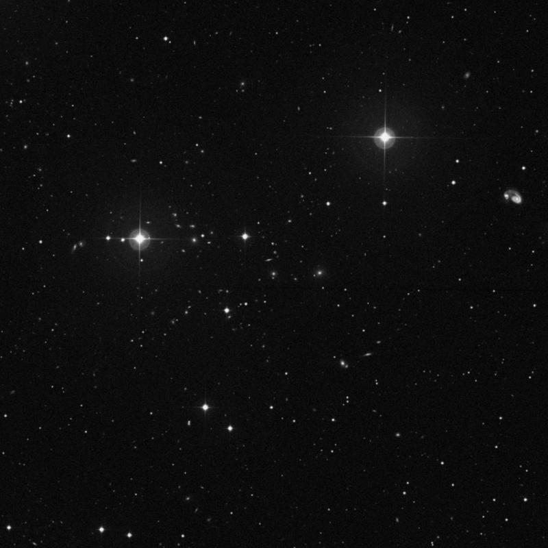 Image of IC 923 - Elliptical Galaxy in Ursa Major star